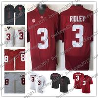 be9aa38ba NCAA Alabama Crimson Tide Hot Sale  3 Ridley Black Red White 8 Julio Jones Stitched  2018 Draft College Football Jerseys S-3XL