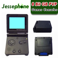 Wholesale gb station games for sale - Group buy 50X Bit GB Station SP PVP Kid Handheld Game Console With Games LCD Retro Portable Game Player For Children Hot Sale
