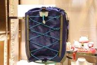 name brand backpack großhandel-2019 New Style Marken Name Rucksack Big Echtes Leder Herren Rucksack Hohe Qualität Echtes Leder Männer Rucksäcke Designermarke Rucksack PVC