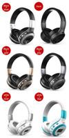 Wholesale wireless headphones sd card slot resale online - ZEALOT B19 Bluetooth Headphones Wireless Stereo Earphone Headphone with Mic Headsets Micro SD Card Slot FM Radio For Phone PC