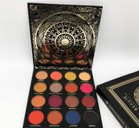 Wholesale eyeshadow platte - New Ace Beaute Eyeshadow Platte Quintessential Palette 16 Colors Matte and Shinny Eyeshadow