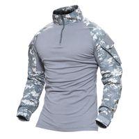 huellas de caza al por mayor-Imprimir Magcomsen Man Multicam Camisetas Army Camouflage Combat Tactical T-Shirt Militar Hombres Camiseta de manga larga Hunt T-Shirts Ag -Fed -22