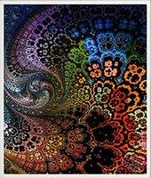kits de pintura únicos venda por atacado-Broca cheia 5d Pintura Diamante-Unique Cor Flores-Artes Artesanato para Decoração Home Da Parede Presente Do Festival DIY Kits de Pintura Diamante