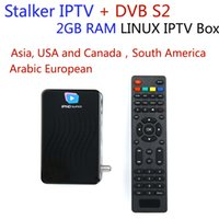 Wholesale mag 254 iptv box resale online - 1year free European iptv channels USA UK Asian Chinese Arabic French South America IPHD super S800 GB RAM faster mag set top box