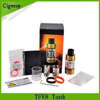 Wholesale cloud kit for sale - Group buy TFV8 Cloud Beast Tank Atomizer Full Kit ml Top Refill Adjustable Airflow Sub Ohm Coils For TFV8 Tank