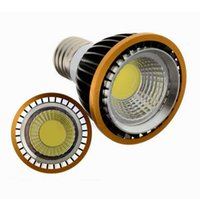 mr16 led sıcak ışık ampulleri toptan satış-PAR20 Dim 9 W E27 E26 Led Ampuller Işık Yüksek Güç COB 600 Lümen Soğuk / Sıcak Beyaz GU10 Led Spot Işıklar 110-240 V / 12 V MR16