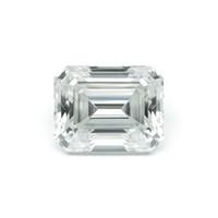 ingrosso tagli diamanti brillanti-Emerald Baguette Cut Brilliant 14x12mm 9.3CT DF Colore Moissanite Pietra allentata VVS Eccellente Cut Grade Test Positivo Lab Diamond