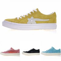 18ac15280c0d 2019 New Mens Canvas X Creator One Star Ox Golf Le Fleur Suede leather shoes  Black Purple Green Casual Shoes women Running Shoes