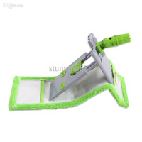 ткани для чистки пола оптовых-Wholesale-East flat mop with microfiber cloth can clip towel for home floor kitchen living room cleaning tools supplier