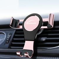 воздух оптовых-Автомобильный держатель VW для iPhone X Гравитационная реакция Воздухоотводчик Держатель телефона Клип Держатель сотового телефона Подставка для Samsung S8