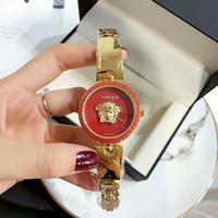 Wholesale bracelet designs for ladies online - Top Brand Vers Women Waches Montre Femme Fashion Gold Sliver Design Quartz Watch Women Luxury Full Steel Bracelet For Ladies Famale Clock