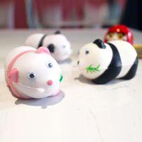 beste mini-telefone großhandel-Bestes Geschenk Bestes Geschenk Squishy Panda riesige Squishies Langsam steigende Soft Squeeze Cute Handy Strap Geschenk Stress Kinderspielzeug Dekompression Spielzeug