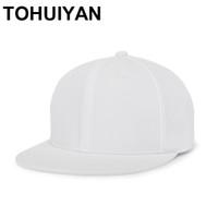 3a86c06ef5e TOHUIYAN Solid Color Cotton Hats Men Women Baseball Caps Blank Bone Gorras  Snapback European Style Hip Hop Hat Adjustable Caps