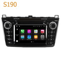 Wholesale double din dvd for car - Road Top S190 Android 7.1 System Quad Core CPU Double Din Car Radio DVD Player GPS Navigation Head Unit Car Computer for Mazda 6 (2008-2013)