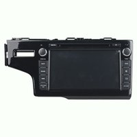 Wholesale india price - Factory price 8inch 4GB RAM Octa-core Andriod 6.0 Car DVD player for Honda Fit 2014 with GPS,Steering Wheel Control,Bluetooth,Radio