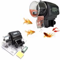 minuteries d'alimentation achat en gros de-Réglable Aquarium Automatique LCD minuterie Poissons Alimentaire Feeder Alimentation Automatique Alimenteur de Nourriture pour Animaux Pet Numérique Aquarium Réservoir Pon