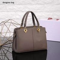 Wholesale lady d handbag - DHL free shipping luxury brand handbags women designer bag good leather Lichee Pattern D brand ladies purses totos shoulder bags