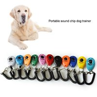 Wholesale Colorful Dog Trainer Dog Training Clicker Clicker Dog Training With Adjustable Wrist Strap Doggy Sound Pet Pet Supplies