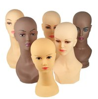 Wholesale mannequins sale resale online - Fashionable Wig Head Manikin Female Head Mannequin On Sale