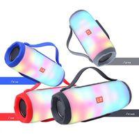 usb hapları toptan satış-E17 Kablosuz Bluetooth Hoparlörler TF USB BT FM Radyo Yeni Subwoofer Açık Taşınabilir LED Hap XL Parti Hoparlör Iyi Büyük Ses