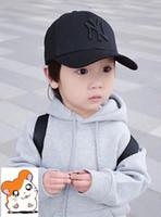 çocuklar çifte beyzbol şapkaları toptan satış-2019 yeni Çocuklar ebeveyn-çocuk kap marka erkek tasarımcı şapka snapback beyzbol kapaklar lüks lady şapka yaz casquette kadınlar nedensel ayarlanabilir kap