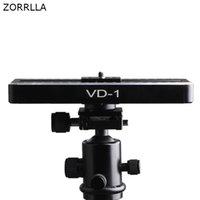 video kamera kaydı kaydırıcı toptan satış-Mobil Slide Rail Bulut Platformu Kamera Slider Mini Video Track Slider