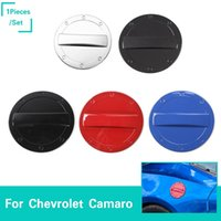 Wholesale protect doors online - Door Fuel Tank Cover Protect Trim Decoration Stickers For Chevrolet Camaro Up Car Styling Exterior Accessories