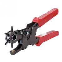 Wholesale Revolving Leather Hole Punch Plier Leather Belt Cut Eyelet Sizes Enhanced Version