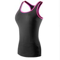 ingrosso camicia di yoga-T-shirt da donna sportiva aderente a maniche lunghe da palestra, vestibilità asciutta, vestibilità asciutta