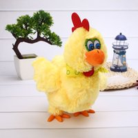 Wholesale Plush Camera - Lovely Electric Sing Dancing Plush Stuff Hens Laying Eggs Interactive Toy Doll