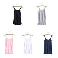 şimdi elbiseler toptan satış-Kadınlar Sıkı Kaşkorse Spagetti Kayışı Uzun Tank Top Kayma Mini Elbise 4 Renk BOYUT XXL Now-W7 mevcuttur 10