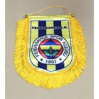 Wholesale flag turkey - Flag of Turkey Fenerbahce SK Handing flag 30cm*20cm Size Decoration flag banner for home & garden Festive