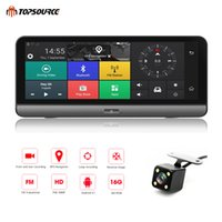 """Wholesale parking car android - TOPSOURCE Car DVR Android 5.1 4G 8"""" Car Camera WIFI 1080P Video Recorder Registrar Dash Cam DVR Parking Monitoring Bluetooth T78 GPS"""