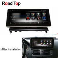 Wholesale 10 quot Android Octa Core G Car Radio GPS Navigation Bluetooth Head Unit Screen for Mercedes Benz C Class W204