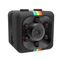 Wholesale Hidden Pocket Cameras - SQ11 Hidden Mini Camera 1080P 720P Pocket Security Spy Camera Motion Detection Nanny Cam Home Surveillance With Retail Package DHL Free