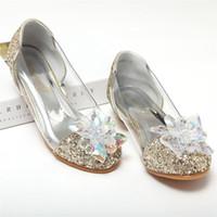 56518548 Niño Cristal Brillo Pisos Niño pequeño Bombas de tacón bajo Big Girl  Concurso Boda Dama de honor Princesa Zapatos de vestir