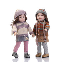 Wholesale dolls silicone resale online - NPKCOLLECTION American Girl Doll Full silicone reborn babies soft real gentle touch silicone toys for kid Birthday Christmas