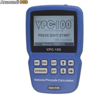 Wholesale audi pin code reader for sale - Group buy Newest VPC Hand Held Vehicle Pin Code Calculator With Tokens Update Online Pincode Reader
