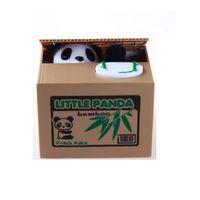 çocuklar para banka oyuncakları toptan satış-Elektronik Plastik Para Kutusu Çocuklar Hediye Için Çalmak Kumbara Para Para Kutusu Hediye Masası Oyuncak