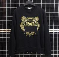 ingrosso maglietta m-Felpe Designer manica lunga T-shirt per uomo Tigre Ricamo Hoodeis Marca lLetter Top Donna Autunno Primavera Taglia S-2XL