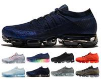 hava örgüsü toptan satış-Yeni Hava yastığı 2018 BE GERÇEK Dokuma racer Atletik Yürüyüş Sneakers Erkek Kadın Chaussures eğitmenler tasarımcı Koşu Ayakkabıları 36-45