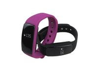 Wholesale id107 smart bracelet online - ID107 Smart wristband Smart Bracelet with Heart Rate Monitor Fitness Tracker Sports Watch for Android IOS Mobile Phone Life Waterpr