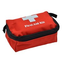 Wholesale outdoor medical bags for sale - Group buy Mini Portable Cute Emergency Survival Bag Family First Aid Kit Sport Travel kits Home Medical Bag Outdoor Car First Aid Bag