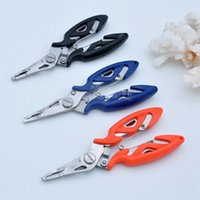 Wholesale mini tool pliers resale online - Mini Portable Multi Function Pliers Outdoor Fish Control Tongs Hand Tools Fishing Equipment Wire Nippers Hot Sale ts Ww