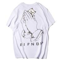 Wholesale Printing Items - fashion item hot Sale Brand Clothing Men Print Cotton Shirt T-shirt men Women T-shirt Hip Hop O-neck short sleeve high quality