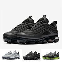 Wholesale japan shoes sale - [With Box] TOP SALE Vapormax 97 Hybrid 3M Shoes Black gold Silver Green White Japan OG Men Women Vapormaxes Sneakers sports shoes