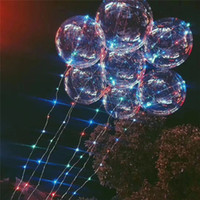 led c7 christmas lights string 18 inch clear foil helium bobo balloons with copper led