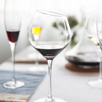Wholesale Glass Wedges - Creative wedge crystal glass red wine cup Champagne Cup Goblet