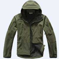 Shark Skin V 4.0 Military Tactical Softshell Jacket Men Windbreaker Водонепроницаемая одежда Hoodie 20121215C SET