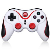 manejar consolas de juegos al por mayor-Gen Game S5 Wireless Bluetooth Gamepad Game Controller Joystick remoto para Android Tablet Came Console para iPhone